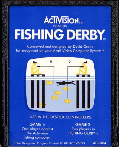 Fishing Derby - Cartridge Scan