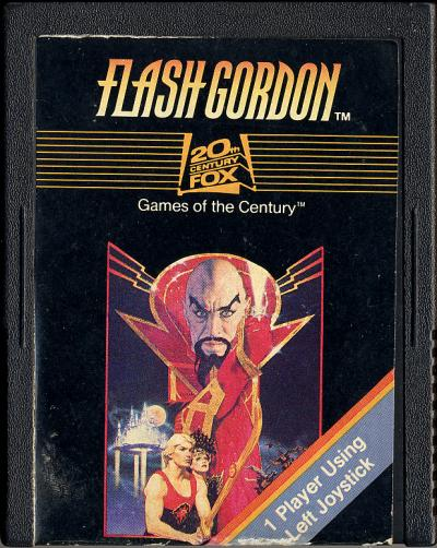 Flash Gordon - Cartridge Scan