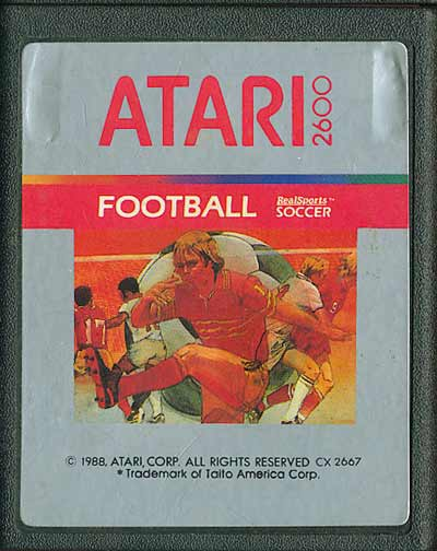 Football - Realsports Soccer - Cartridge Scan