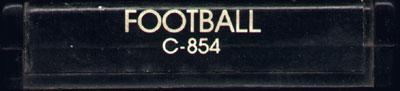 Football - Cartridge Scan