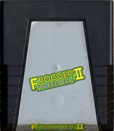 Frogger II: Threeedeep! - Cartridge Scan