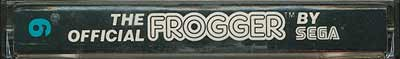 Frogger, The Official - Cartridge Scan