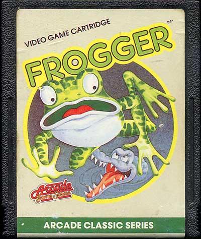 Frogger - Cartridge Scan