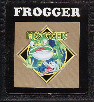Frogger - Cartridge Scan