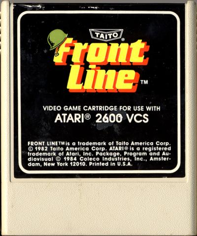 Front Line - Cartridge Scan