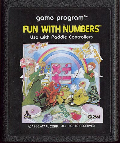 Fun With Numbers - Cartridge Scan