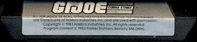 G.I. Joe - Cobra Strike - Cartridge Scan