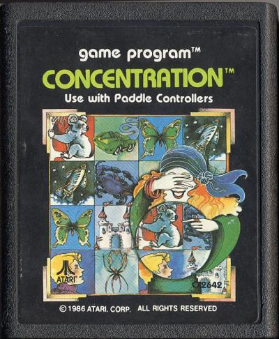 Game of Concentration - Cartridge Scan