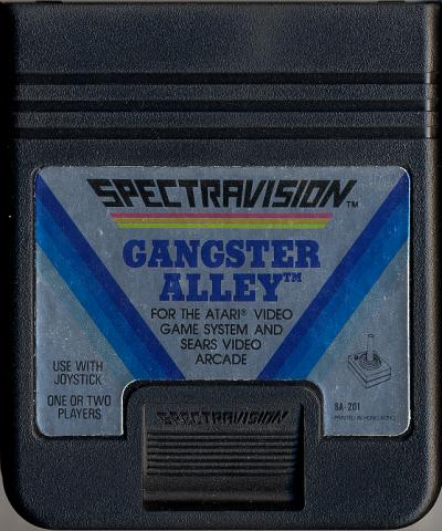 Gangster Alley - Cartridge Scan