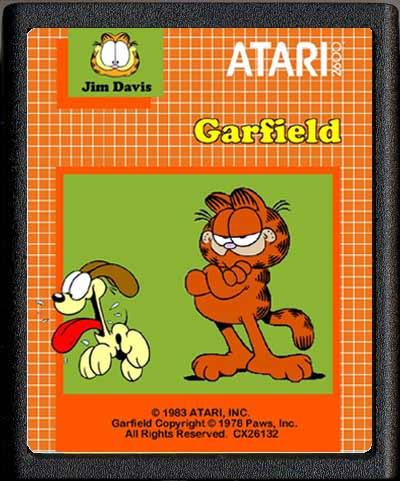 Garfield - Cartridge Scan