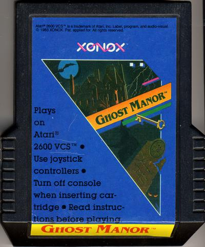 Ghost Manor - Cartridge Scan