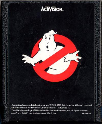 Ghostbusters - Cartridge Scan