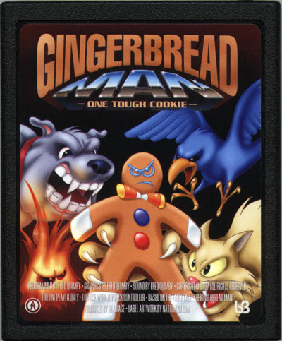 Gingerbread Man - Cartridge Scan
