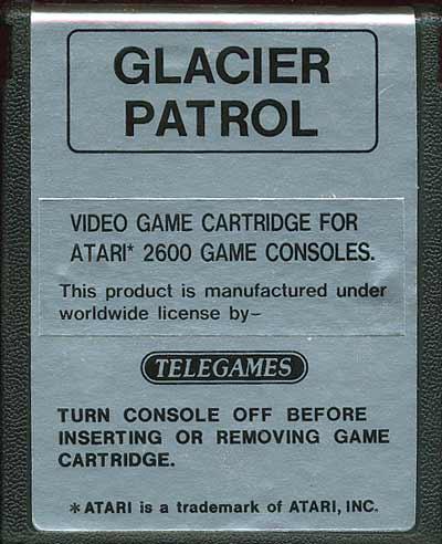 Glacier Patrol - Cartridge Scan