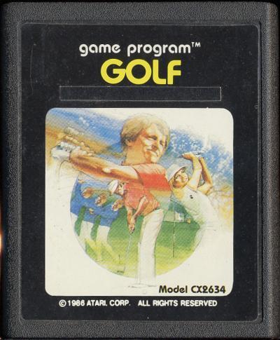 Golf - Cartridge Scan