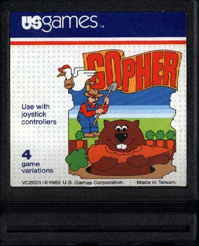 Gopher - Cartridge Scan