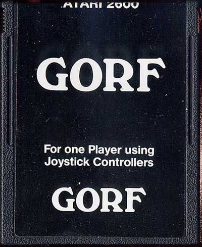 Gorf - Cartridge Scan