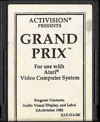 Grand Prix - Cartridge Scan
