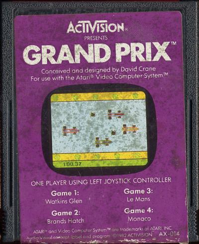 Grand Prix - Cartridge Scan