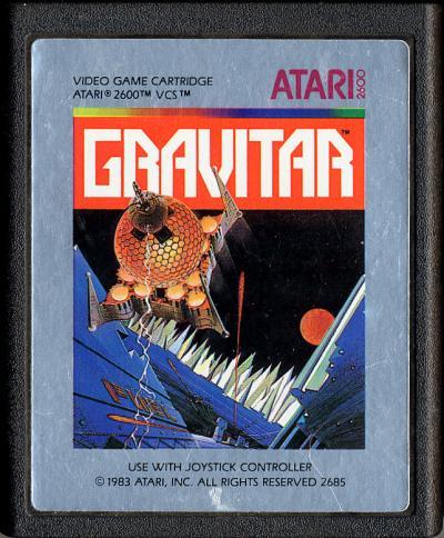 Gravitar - Cartridge Scan