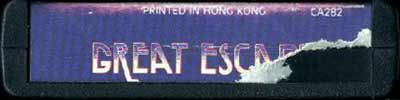 Great Escape - Cartridge Scan