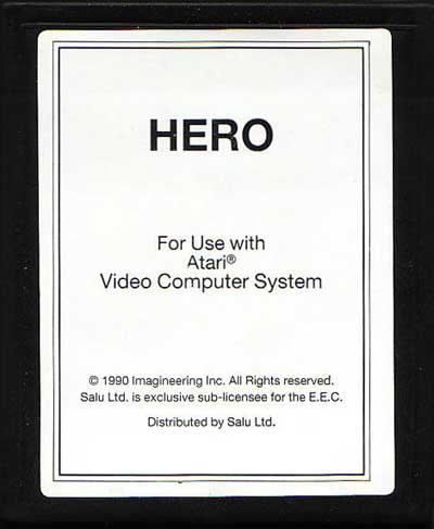 H.E.R.O. - Cartridge Scan