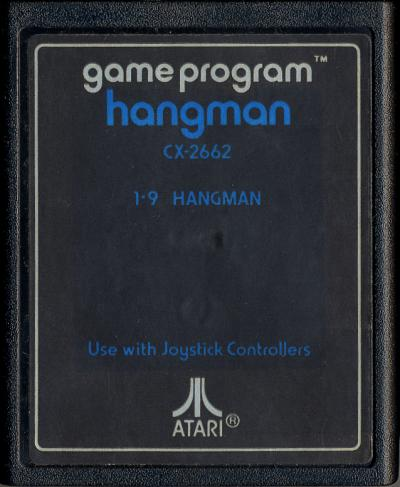 Hangman - Cartridge Scan
