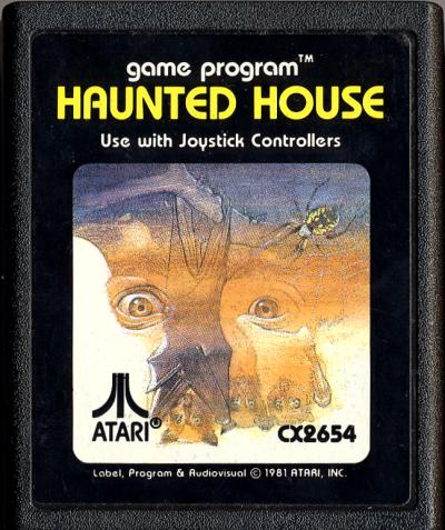 Atariage Atari 2600 Cartridge Scans Haunted House Atari