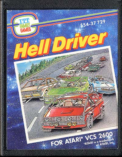 Hell Driver - Cartridge Scan