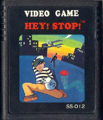 Hey! Stop! - Cartridge Scan