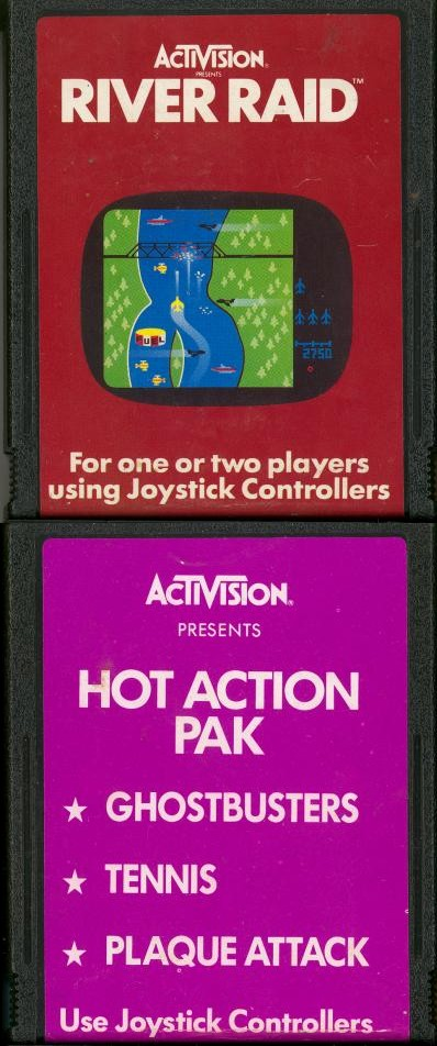Hot Action Pak - Cartridge Scan