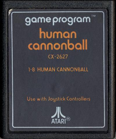 Human Cannonball - Cartridge Scan