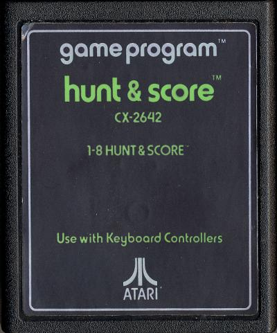 Hunt & Score - Cartridge Scan