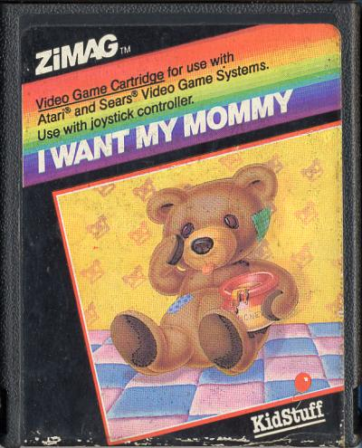 I Want My Mommy - Cartridge Scan
