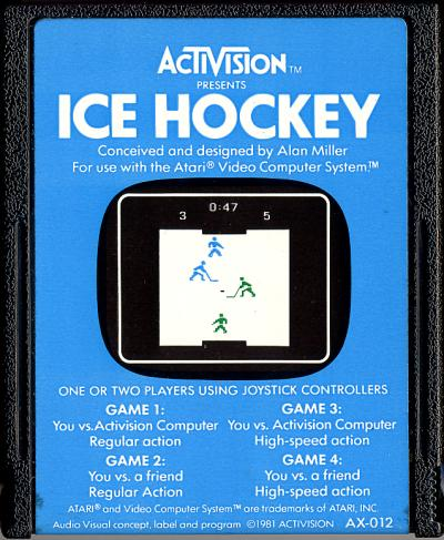 Ice Hockey - Cartridge Scan