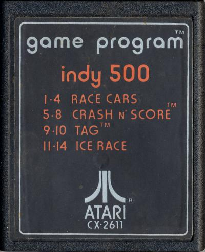 Indy 500 - Cartridge Scan