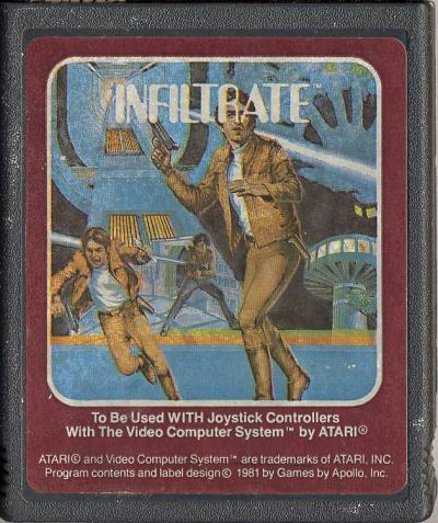 Infiltrate - Cartridge Scan