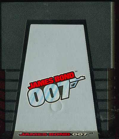 James Bond 007 - Cartridge Scan