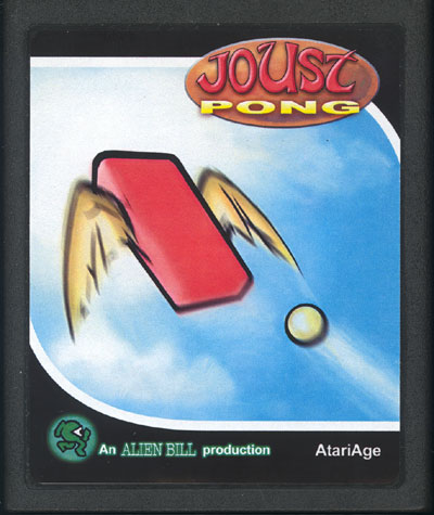 JoustPong - Cartridge Scan