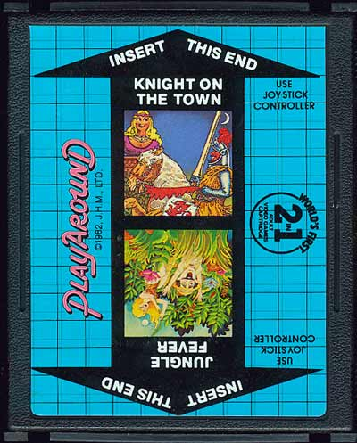Jungle Fever/Knight on the Town - Cartridge Scan