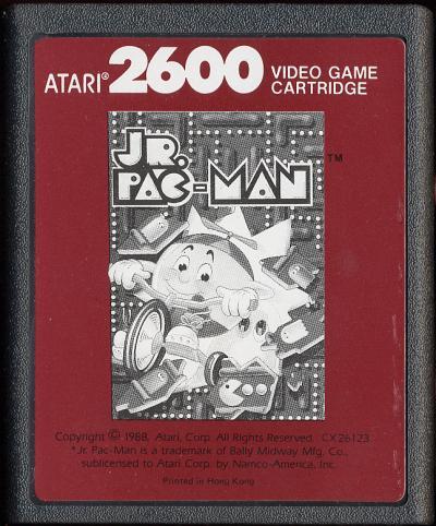 Jr. Pac-Man - Cartridge Scan