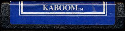 Kaboom! - Cartridge Scan