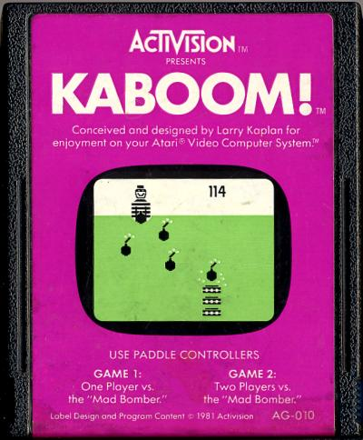 Kaboom! - Cartridge Scan