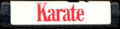 Karate - Cartridge Scan