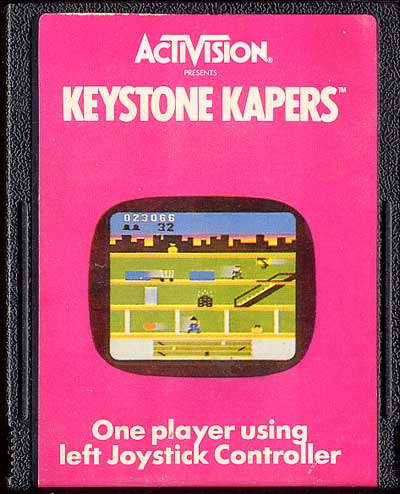 Keystone Kapers - Cartridge Scan