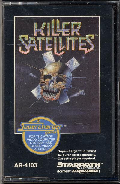 Killer Satellites - Cartridge Scan