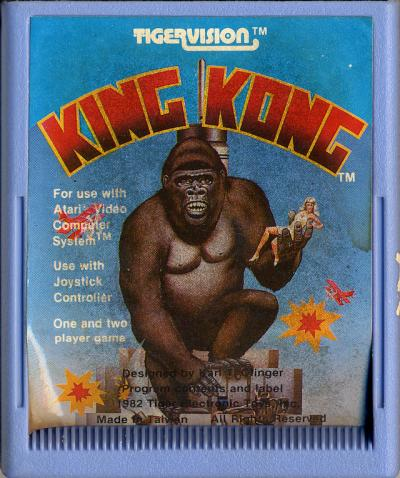 King Kong - Cartridge Scan
