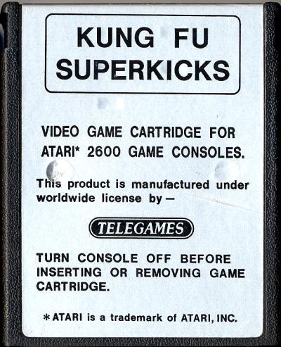 Kung Fu Superkicks - Cartridge Scan
