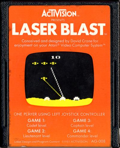 Laser Blast - Cartridge Scan