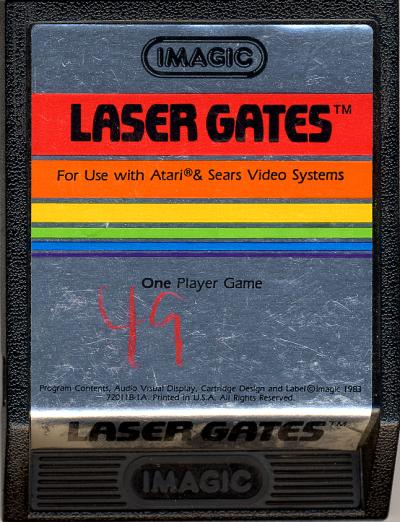 Laser Gates - Cartridge Scan